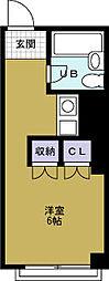マンション劉[3階]の間取り