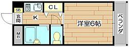 シロハイヌ[1階]の間取り