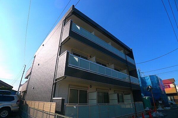 リブリ・上北台[3階]の外観