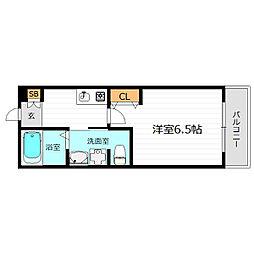 SWISS京橋[7階]の間取り