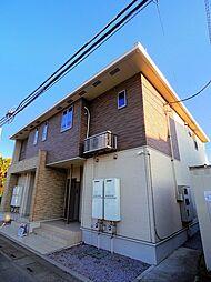 埼玉県所沢市大字中富の賃貸アパートの外観