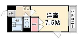 AGURA HITOKURA[204号室]の間取り