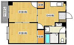 宮の陣駅 3.8万円
