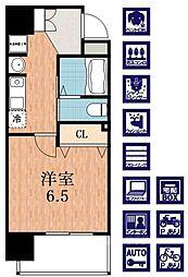 SWISS天王寺II[7階]の間取り
