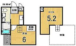 WEST9 Mirror 1号館[1階]の間取り