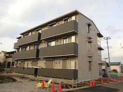 千葉県流山市西初石5丁目の賃貸アパートの外観