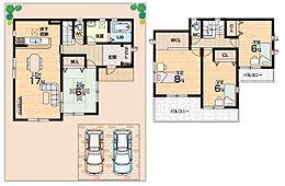 全居室6帖以上・対面キッチン