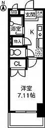 第2さくらマンション中央[403号室]の間取り