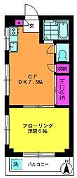 第1宏明ビル[301号室]の間取り