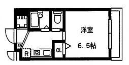 コンフォートヴィレッジ内田[203号室号室]の間取り