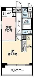 プレール・ドゥーク本所吾妻橋 III[3階]の間取り