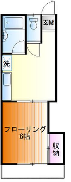 コーポクレヨン 2階の賃貸【東京都 / 八王子市】