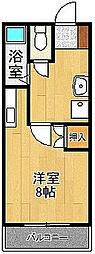 レジデンス高松[602号室]の間取り