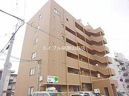 岡山県岡山市北区新屋敷町3丁目の賃貸マンションの外観