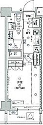 ジェノヴィア板橋ウエストグリーンヴェール[9階]の間取り