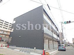 兵庫県神戸市灘区神ノ木通2丁目の賃貸アパートの外観
