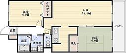 NAGARE35[6階]の間取り