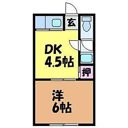 勝山町駅 2.0万円
