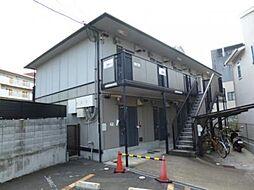 京都府京都市伏見区深草一ノ坪町の賃貸アパートの外観
