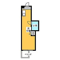 ビラカレッジ3[2階]の間取り