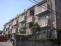東京都足立区西綾瀬4の賃貸マンションの外観