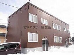 アパートメント脇坂[1階]の外観