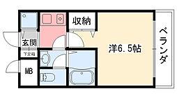 ブールバール甲子園[205号室]の間取り