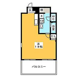 gru[2階]の間取り