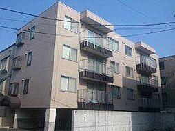 北海道札幌市東区北二十五条東16丁目の賃貸マンションの外観