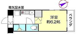 オガワ第3ビル[8階]の間取り