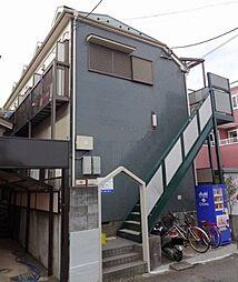 東京都東久留米市浅間町1丁目の賃貸アパートの外観