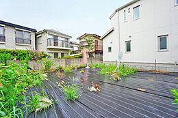 40坪以上の広さのある土地です、お好みのハウスメーカーで建築することが出来ます。