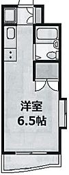 東京都新宿区高田馬場3丁目の賃貸マンションの間取り