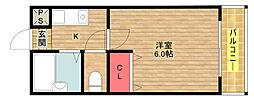 Lilac PartII[508号室]の間取り