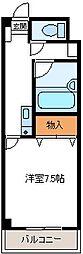 埼玉県加須市花崎2丁目の賃貸マンションの間取り