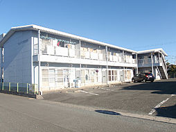 静岡県浜松市中区高丘西3丁目の賃貸アパートの外観