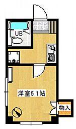 第三鷹取ビル[301号室号室]の間取り
