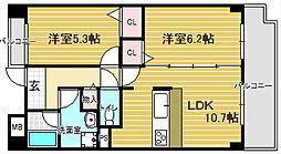 メゾン穂[2階]の間取り