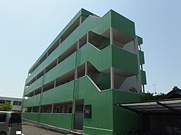 愛知県岡崎市小針町字城跡の賃貸マンションの外観