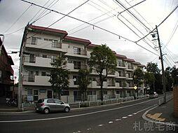 北海道札幌市中央区南十六条西5丁目の賃貸マンションの外観