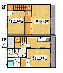 KCハイツA2[2号室]の間取り