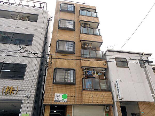 大阪府大阪市港区波除4丁目の賃貸マンションの外観