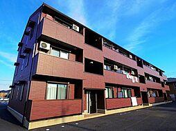 埼玉県入間市大字上藤沢の賃貸アパートの外観