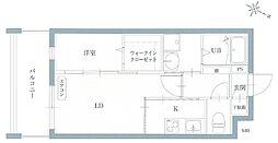リアンレガーロ井尻ステーションII[2階]の間取り