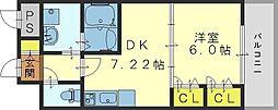 ジャスミンガーデン[605号室]の間取り