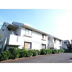 茨城県つくば市並木2丁目の賃貸アパートの外観