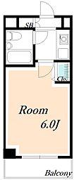 ローズガーデンA75番館[1階]の間取り