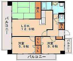 アルカンシェル25[5階]の間取り
