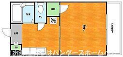 大阪府枚方市伊加賀北町の賃貸アパートの間取り