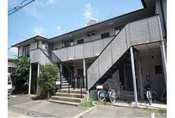 京都府京都市伏見区醍醐御霊ケ下町の賃貸アパートの外観